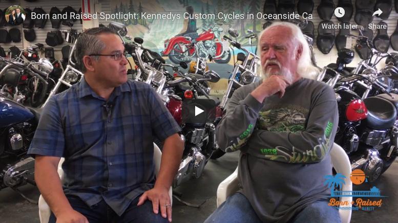 Born and Raised Spotlight: Kennedys Custom Cycles